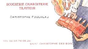 boucherie charcuterie traiteur foucreau Saint Christophe des Bois